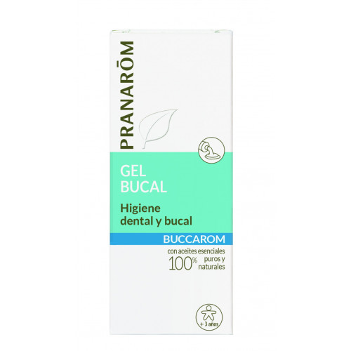 BUCCAROM (HIGIENE DENTAL Y BUCAL) GEL 15CC PRANAROM