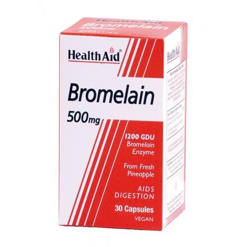 BROMELINA (BROMELAIN) 500 MG 30 CAP NUTRINAT