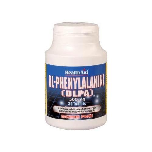 DLPA (DL-FENILALANINA) 500 MG 30 COMP NUTRINAT