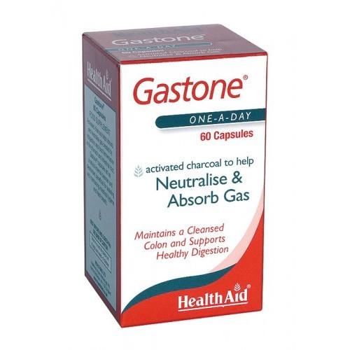 GASTONE (CARBON PURO ACTIVADO) 260 MG 60 CAP NUTRINAT