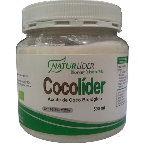 COCOLIDER ACEITE COCO BIO 500 CC NATURLIDER