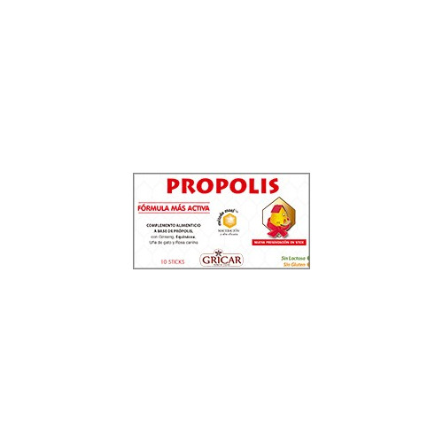 PROPOLIS SOLUBLE 10 STICKS HERBOFARM