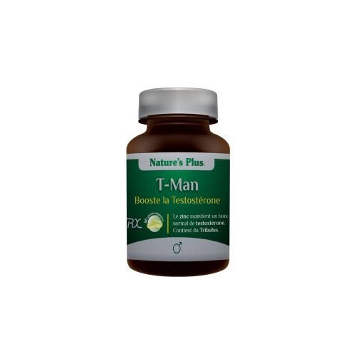 T-MAN 30 CAP NATURE'S PLUS