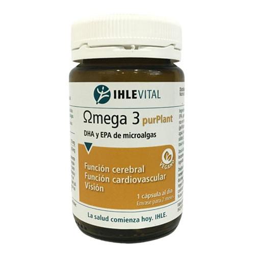 OMEGA 3 PURPLANT 60 CAP VEG IHLEVITAL NUTRINAT