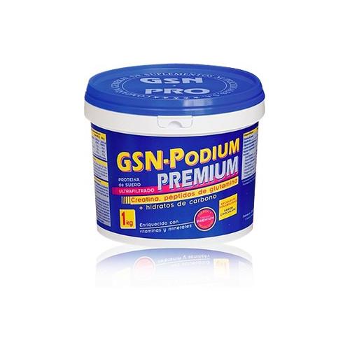 GSN PODIUM PREMIUM 1KG FRESA GSN