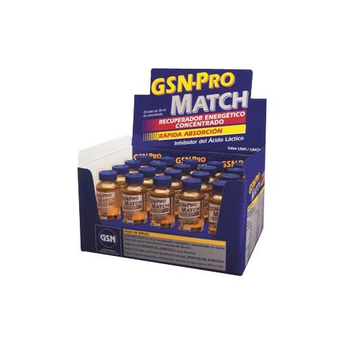 GSN PRO MATCH 20 VIALS 30 ML