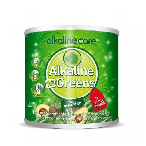 GREENS 220GR (ALKALINE 16 GREENS) ALKALINE CARE