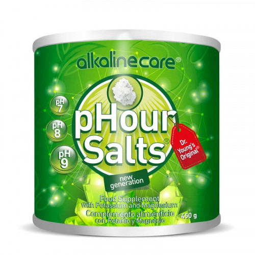 YOUNG PHOREVER PHOUR SALTS 450GR ALKALINE CARE