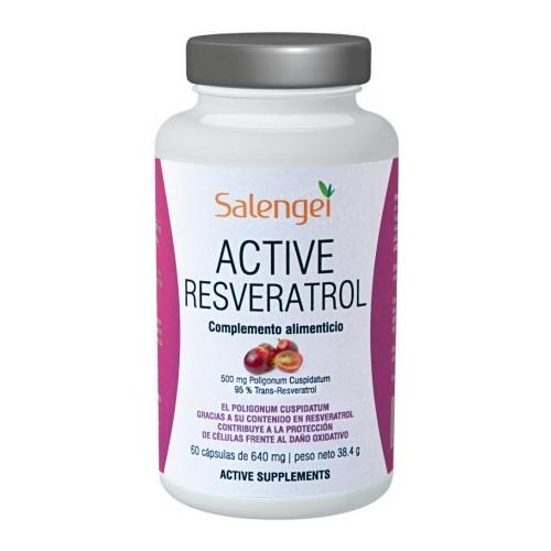 ACTIVE RESVERATROL 60 CAP ACTIVE SUPPLEMENTS SALENGEI
