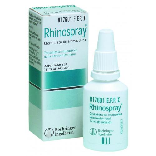 RHINOSPRAY 1,18 mg/ ml SOLUCION PARA PULVERIZACION NASAL 12 ML