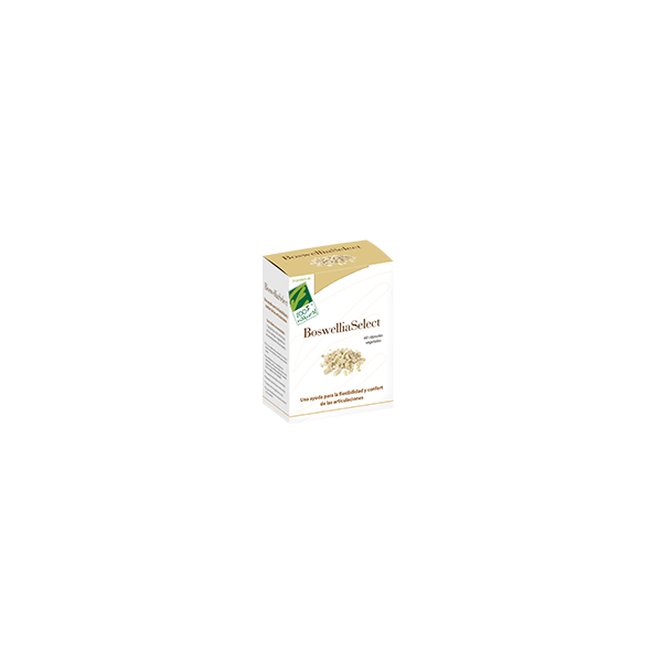 BOSWELLIASELECT 60 CAP VEG CIEN POR CIEN NATURAL