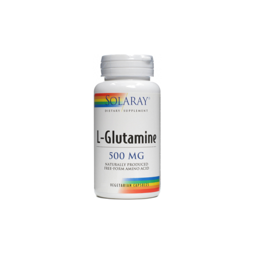 GLUTAMINA 500 MG 50 CAP SOLARAY