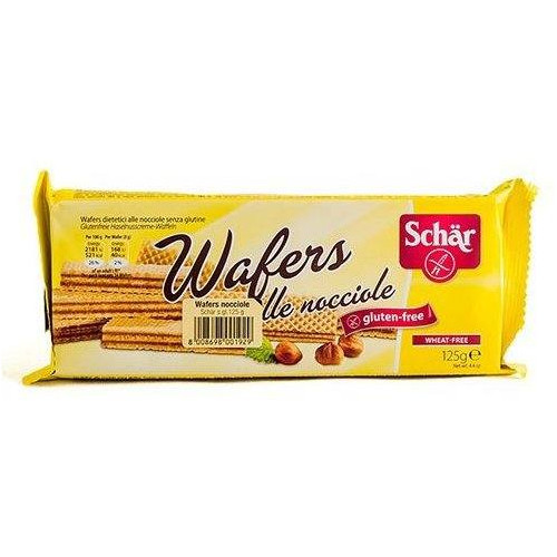 WAFERS BARQUILLOS VAINIL125G SCHAR