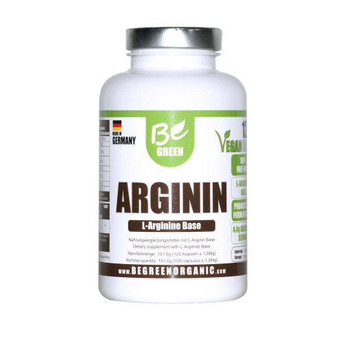 ARGININ VEGAN 120 CAP BE GREEN (BEGREEN)