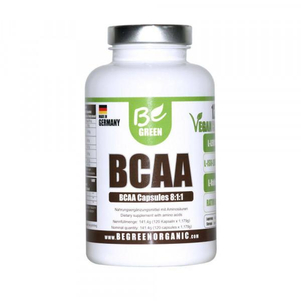 BCAA VEGAN 120 CAP BE GREEN (BEGREEN)