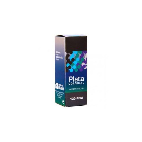 PLATA COLOIDAL 120 PPM 50 ML ARGENOL MARCRIS