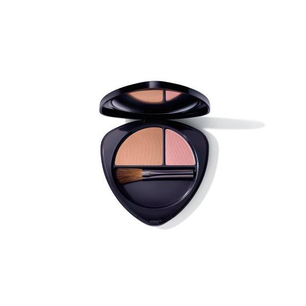 DR HAUSCHKA COLORETE DUO 03 SUN-KISSED NECTARINE