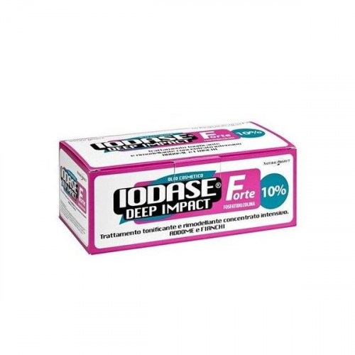 IODASE DEEP IMPACT FORTE AMPOLLAS 10x10ML (POTENTE REDUCTOR)