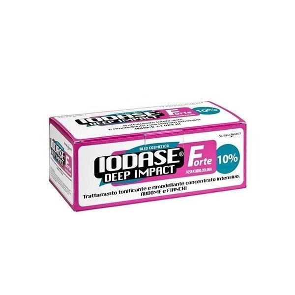 IODASE DEEP IMPACT FORTE AMPOLLAS 10x10ML (POTENTE REDUCTOR)