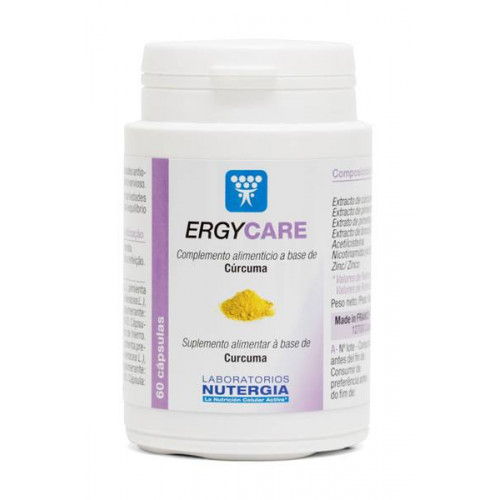 ERGYCARE ( CURCUMA ) 80 CAP NUTERGIA