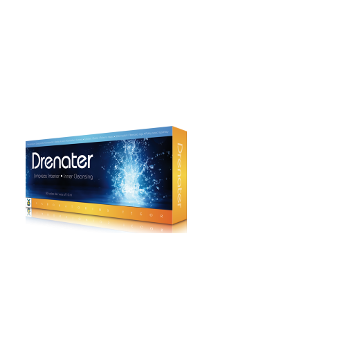 DRENATER 20 VIALES 10ML TEGOR