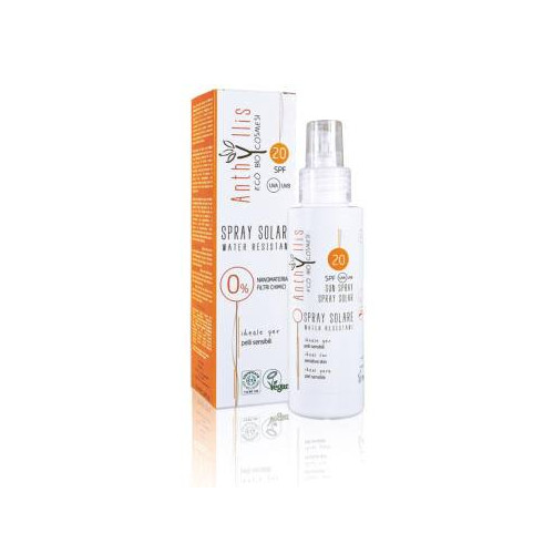 SPRAY SOLAR SPF 20 ECO BIO 100 ML ANTHYLLIS
