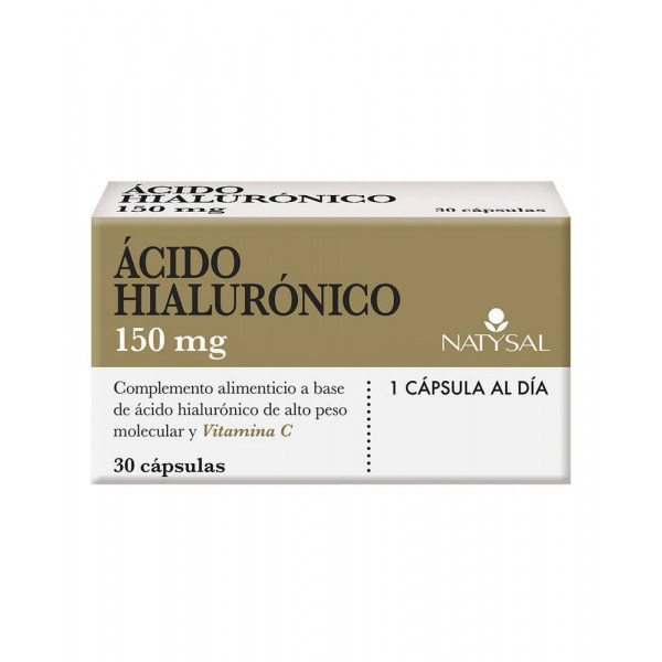 ACIDO HIALURONICO 150MG 30 CAPS NATYSAL