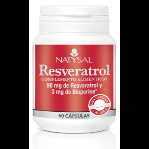RESVERATROL 60 CAPS NATYSAL