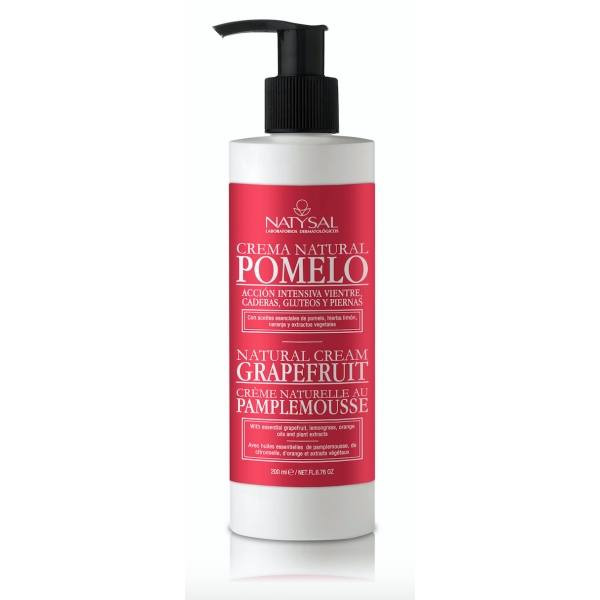 CREMA NATURAL DE POMELO 200ML NATYSAL