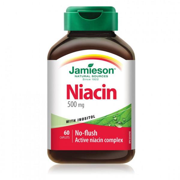 NIACINA 500MG+INOSITOL 150MG 60 CAPS JAMIESON