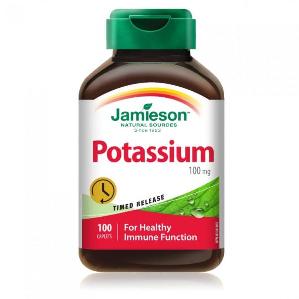 POTASSIUM (POTASIO) 100 CAPS JAMIESON