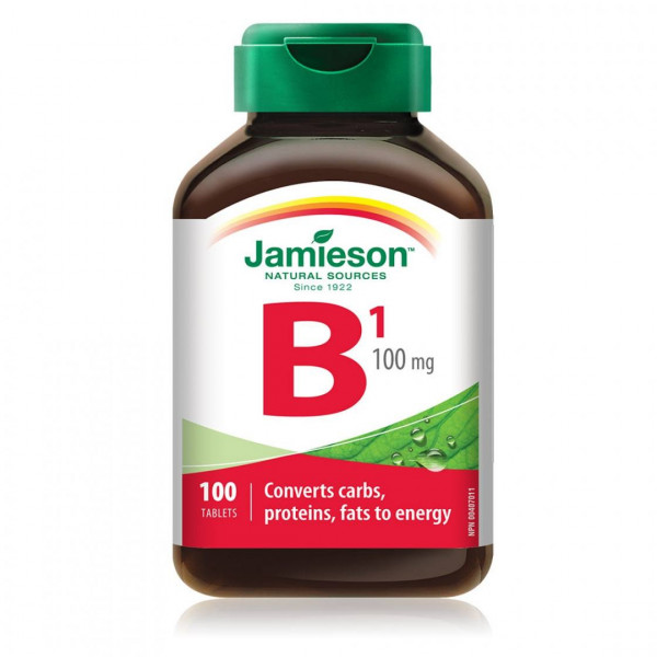 VITAMINA B1(TIAMINA)100MG 100 TABL JAMIESON
