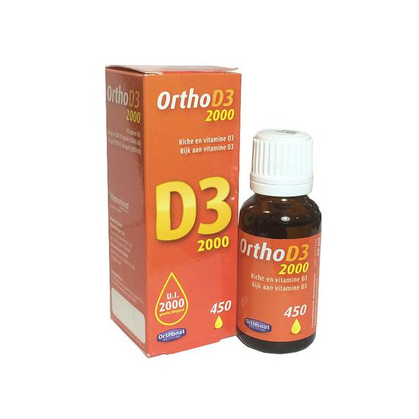 ORTHO D3 2000 UI 20 ML VITAMINA D3 ORTHONAT