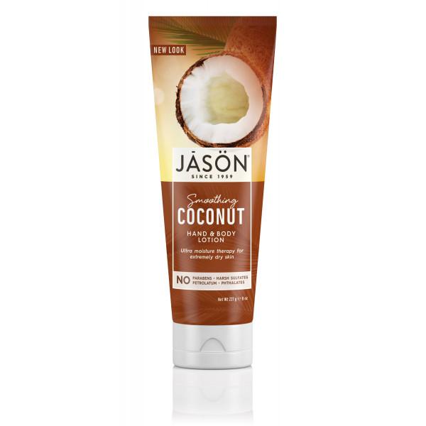 LOCION MANOS Y CUERPO COCO SMOOTHING COCONUT HAND AND BODY LOTION 227 G JASON