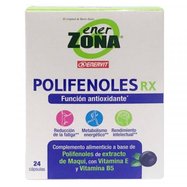 POLIFENOLES RX (MAQUI ) 24 CAPS ENERZONA