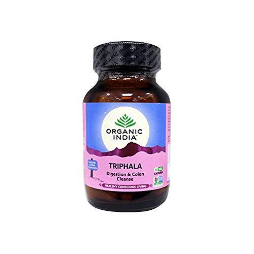 TRIPHALA (DIGESTION/LIMPIEZA COLON) 90 CAPS ORGANIC INDIA SATYALOKA