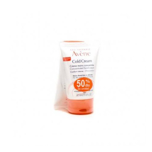 AVENE COLD CREAM MANOS DUPLO X2 50ML