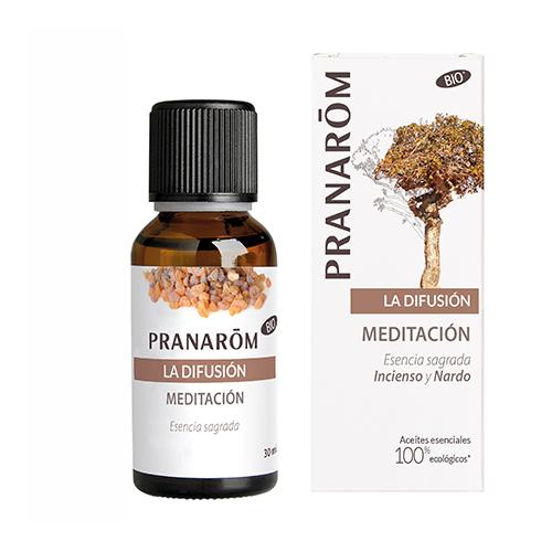 MEDITATION 30CC (INCIENSO Y NARDO) DIFUSION PRANAROM