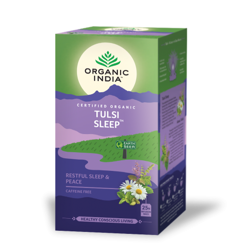 TULSI SLEEP 25 SOBRES INFUSION ORGANIC INDIA
