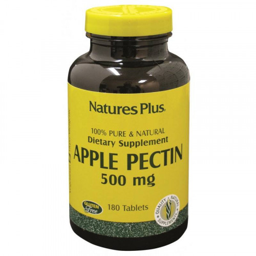 PECTINA DE MANZANA 500 MG 180 COMP NATURES PLUS