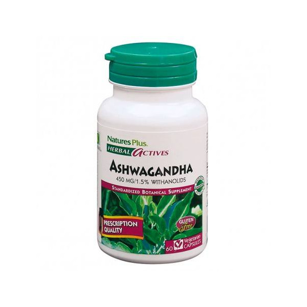 ASHWAGANDA 450 MG 60 CAP NATURES PLUS