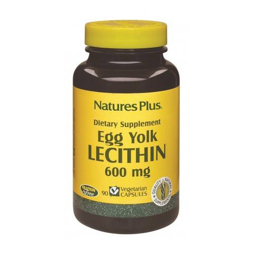 LECITINA DE HUEVO 600 MG 90 CAP NATURES PLUS