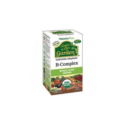 B-COMPLEX GARDEN 60 CAP VEG NATURES PLUS