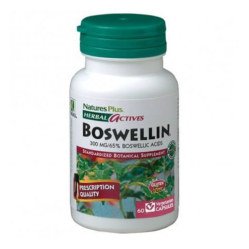 BOSWELLIN BOSWELLIA 300 MG 60 CAP NATURES PLUS
