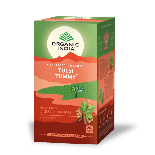 TULSI TUMMY (DIGESTIVO CALMANTE) 25 SOBRES ORGANIC INDIA