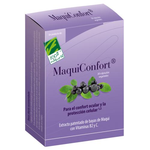 MAQUICONFORT (MAQUI + BETACAROTENO DUNALIELLA) 30 CAP CIEN POR CIEN NATURAL