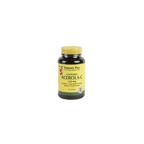 ACEROLA C MASTICABLE (VIT. C 250MG) 90 COMP NATURE'S PLUS