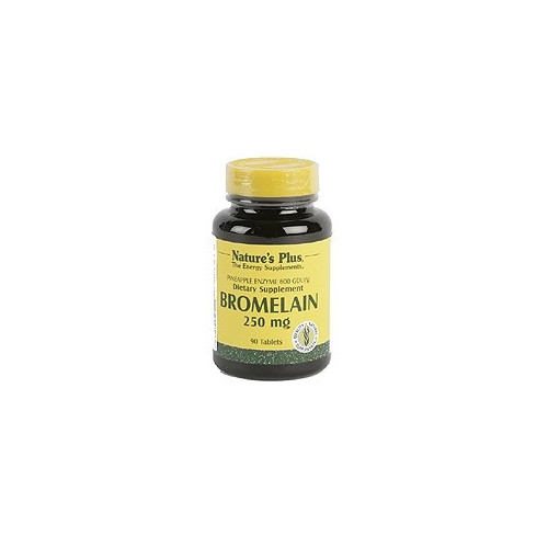 BROMELAINA 250MG 90COMP NATURE'S PLUS