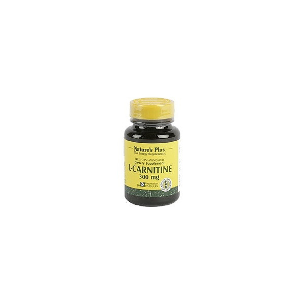 CARNITINA 300 MG 30 CAP NATURE'S PLUS
