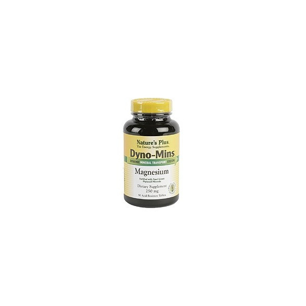 DYNOMINS MAGNESIO 300 MG 90 COMP NATURE'S PLUS
